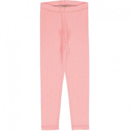Leggings en coton bio Maxomorra - rose
