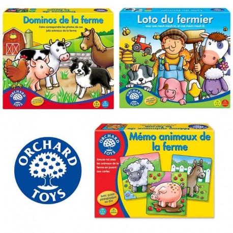 """Pack de jeux """"Fermier en herbe"""""""