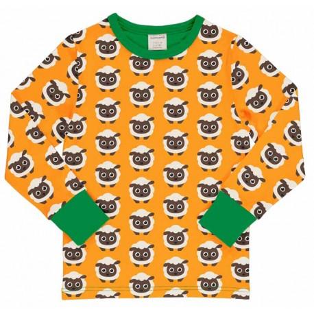 T-shirt à manches longues Maxomorra, motif Moutons