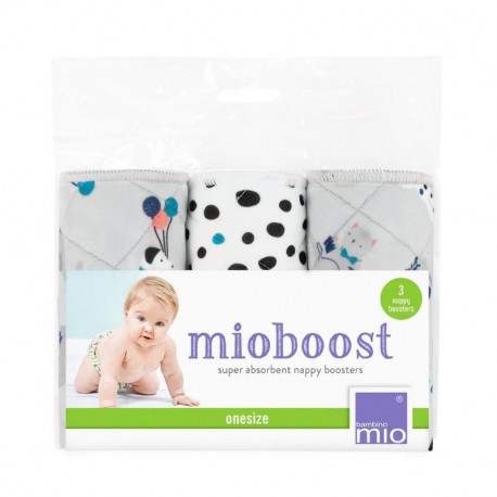 Bambino Mio, mioboost insert booster, lot de 3, le goûter des animaux