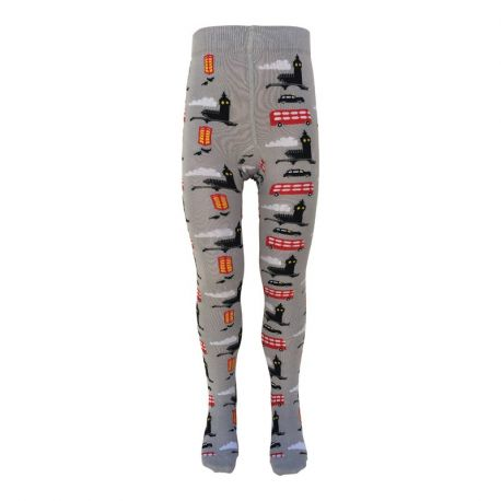 Collant en coton biologique Slugs & Snail, motif Londres