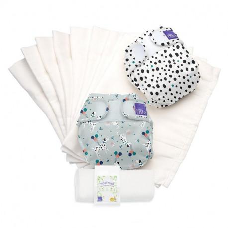 Kit de demarrage couches lavables Miosoft de Bambino Mio