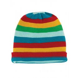 Bonnet bébé tricoté en coton biologique Frugi