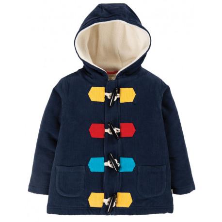 Manteau duffle-coat en velours cotelé biologique Frugi