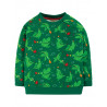 Sweat en coton biologique FRUGI, motif Dragons