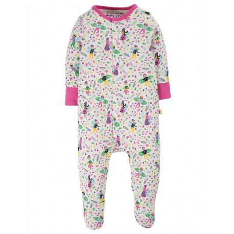 Pyjama grenouillère Frugi, motif Fées