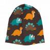 Bonnet en coton biologique Maxomorra, motif Dinosaure