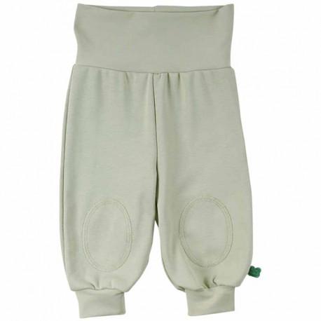 Sarouel bébé en coton bio Fred's World, vert clair
