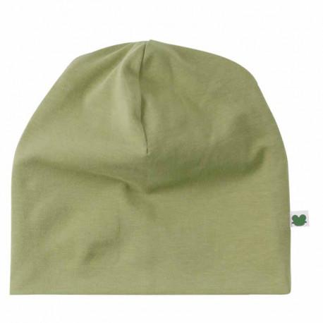 Bonnet bébé en coton bio Fred's World, vert