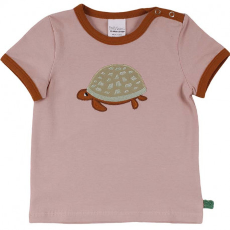 T-shirt manches courtes Fred's World, motif Tortue