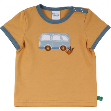 T-shirt manches courtes Fred's World, motif Van