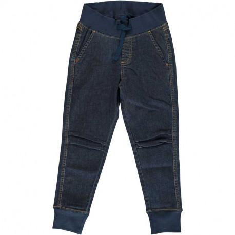 Jean extensible en coton bio Maxomorra, bleu foncé