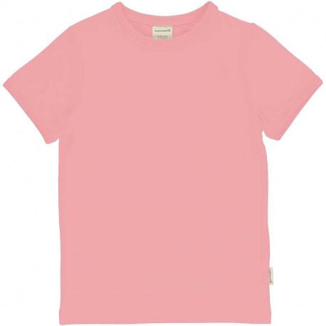 T-shirt manches courtes Maxomorra, rose