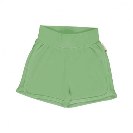 Short 9-12 mois en coton bio Meyadey, vert