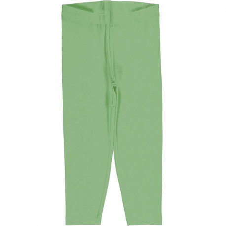 Leggings court en coton bio Meyadey, vert