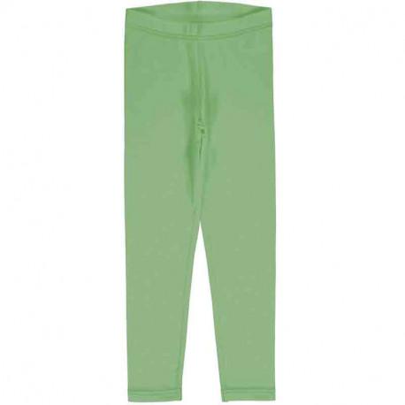 Leggings en coton bio Meyadey, vert