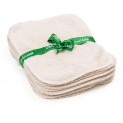 Lingettes lavables en coton bio Little Lamb