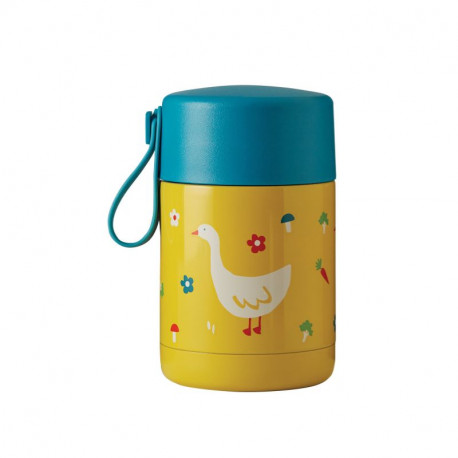 Thermos isotherme pour aliments Frugi, motif oie