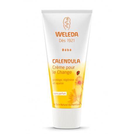 Crème bébé pour le change calendula Weleda