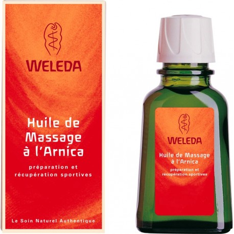 Huile pour massage à l'arnica Weleda